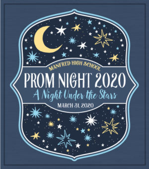 Prom T-shirt Night Under the Stars