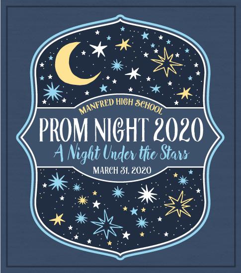 Prom T-shirt Night Under the Stars