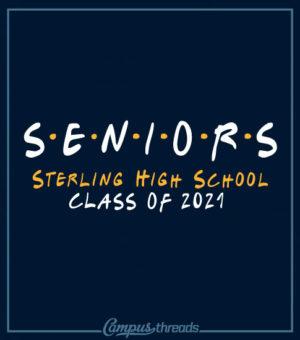 Senior Class T-shirt Friends