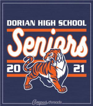 Senior Class Shirt Mascot