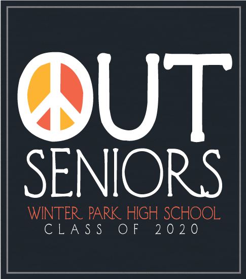 Seniors Peace Out T-shirt