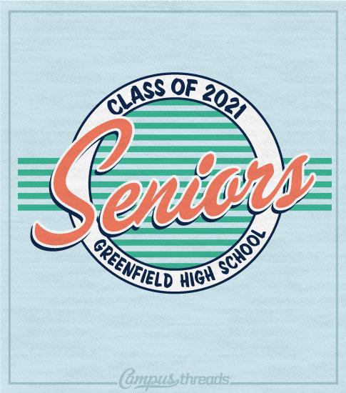 Senior Class Shirt Retro 70s
