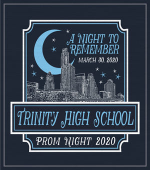 City Skyline Prom Shirt
