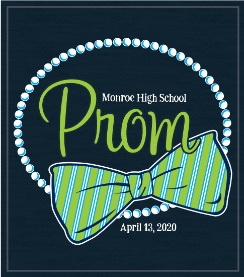 Bow Tie and Pearls Prom T-shirt