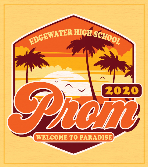 Tropical High School Prom Shirt