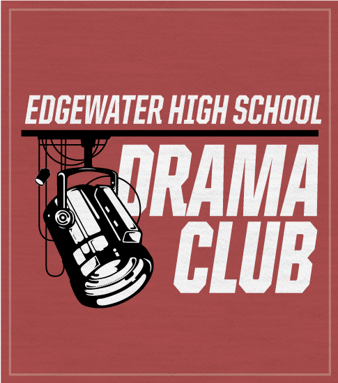 Drama Club T-shirt Lighting