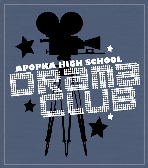 Drama Club T-shirts movie Camera
