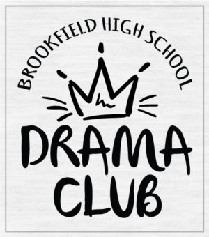 Drama Club T-shirt with Crown