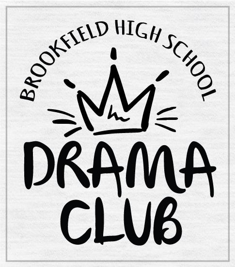 Drama Club T-shirt with Crown