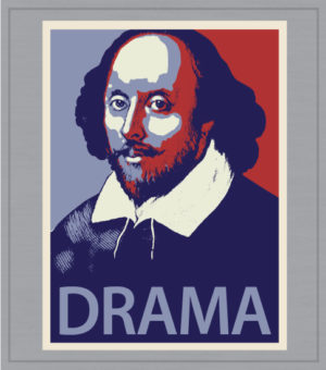 Drama Club T-shirts Hope Poster