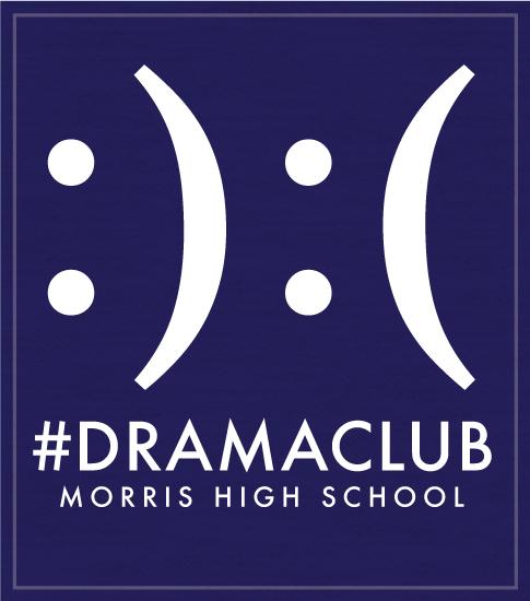 Drama Club Shirts with Emojis
