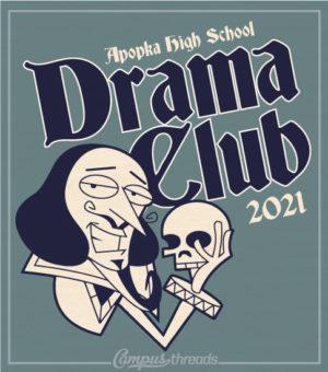 Drama T-shirt Shakespeare