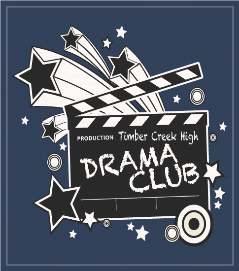 Drama and Theatre T-shirts for High School