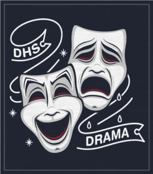 Theater and Drama Shirt with Masks