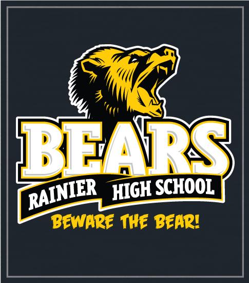 Bears Mascot Spirit T-shirt Roar