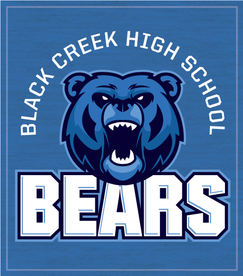 Bears T-shirt Spirit Mascot Roar