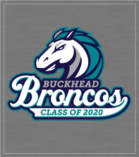 Broncos Mascot Spirit T-shirt