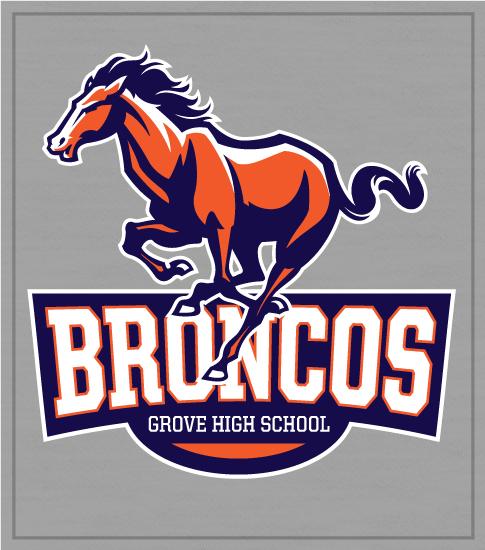 Broncos High School Spirit t-shirts