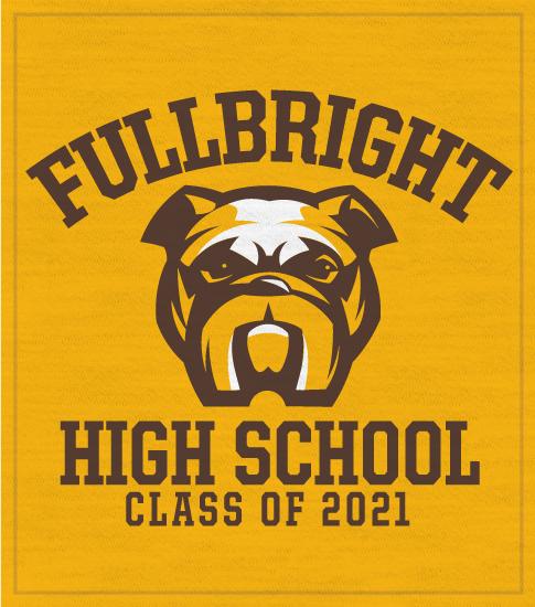Bulldogs Spirit T-shirt Class of 2021