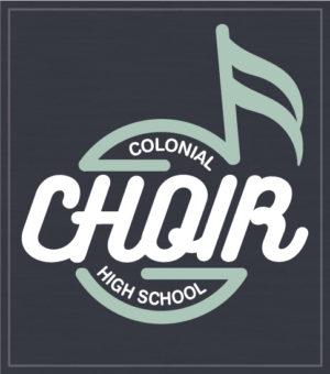 School Choir Circle Note T-shirt