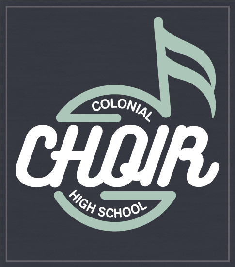School Choir Circle Note T-shirt
