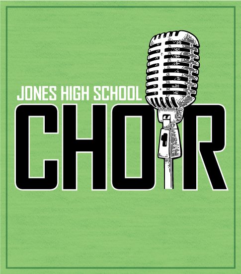 Choir and Chorus T-shirt Microphone