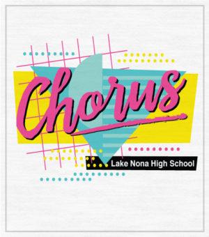 Eighties Chorus Retro T-shirt