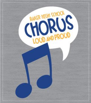 Chorus Big Note T-shirt