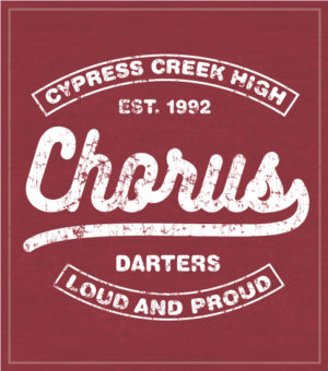 Crimson School Chorus T-shirt