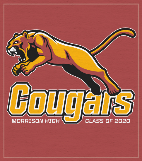 Cougars Spirit T-shirts Class 2020