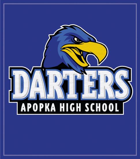 Darter Spirit T-shirts Blue Darters