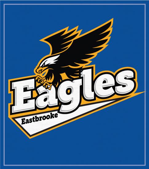 Eagles Mascot T-shirt Script