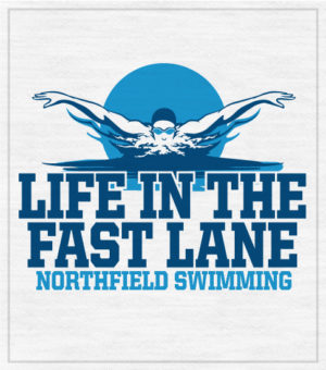 Fast lane Swimming T-shirt