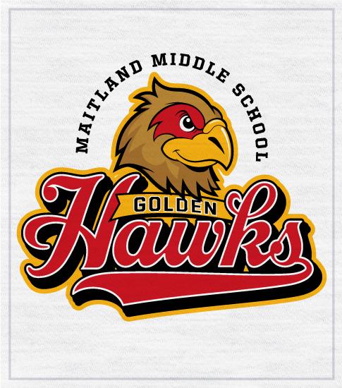 Golden Hawks Mascot T-shirt