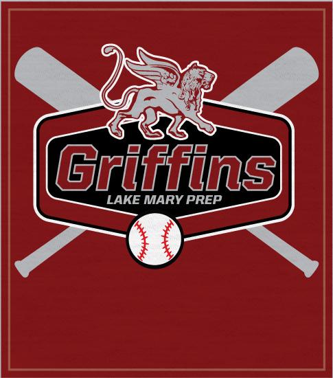 Griffins Baseball Mascot T-shirt