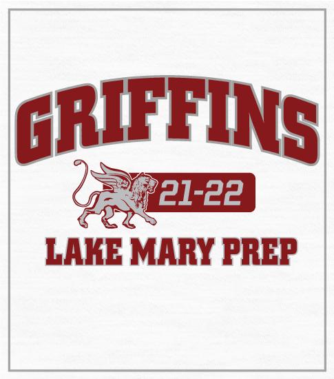 Griffins Mascot Spirit T-shirts Arched
