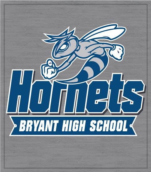 Hornets Spirit T-shirt Blue