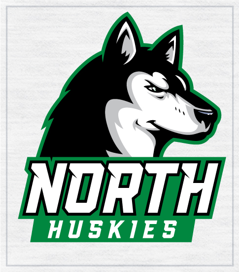 Huskies Spirit T-shirt School Mascot