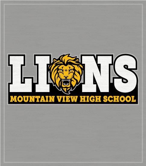 Lions Mascot T-shirt Lions Head
