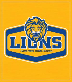 Lions Mascot T-shirts Label