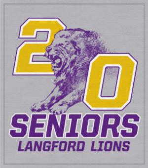 Lions School Mascot Class of 2020 Shirt