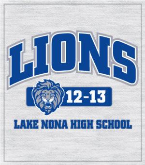 Lions Spirit T-shirt Arched