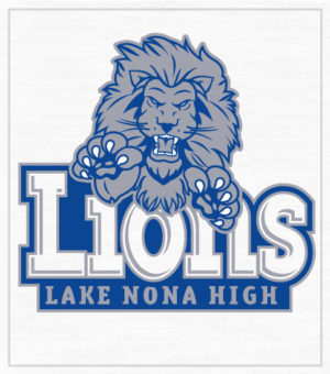 Lions Leaping High School T-shirt