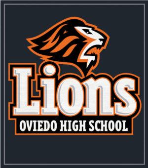 Lions School Mascot T-shirts