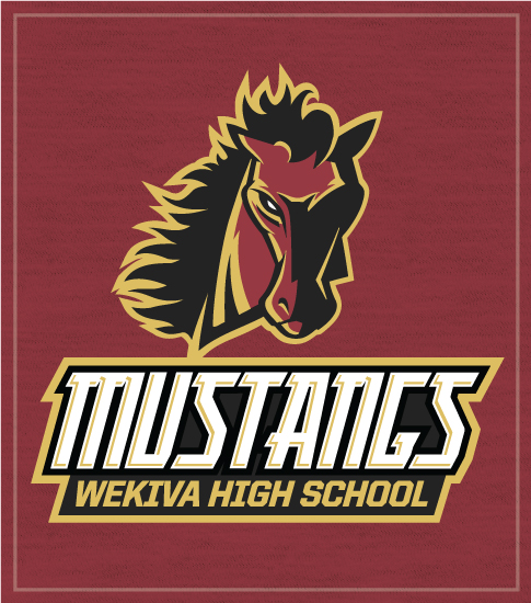 Mustangs Spirit T-shirts Mascot