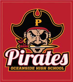 Pirates Mascot School Shirt