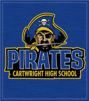 Pirates High School Spirit T-shirt