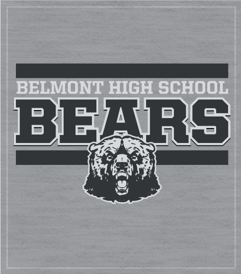 School Spirit T-shirts Bears