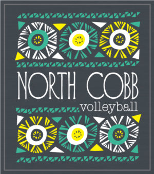 School Volleyball T-shirt