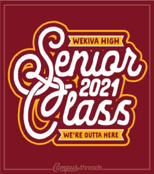 Senior Class T-shirt Interlock Garnet